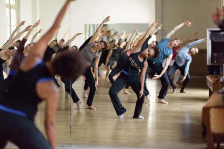 cours de danse contemporaine avec Catherine Cordier