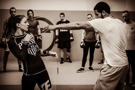 cours de boxe lucie bertaud au cercle tissier