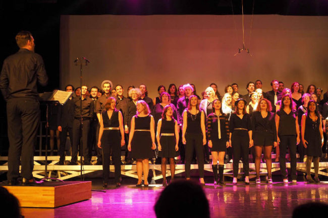 spectacle chorale choeurs de pierre