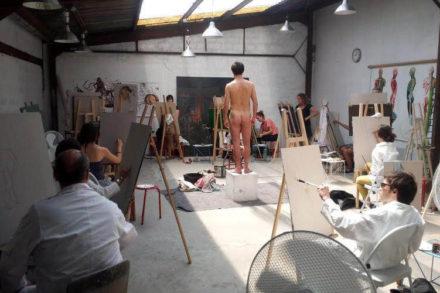 atelier pour peintres amateurs à paris