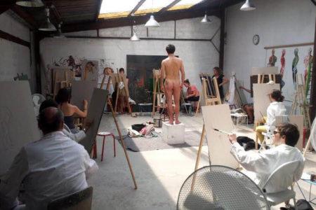 Un collectif d'artistes proposant des cours de dessin et peinture techniques