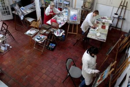 Expérimentés ou débutants motivés, apprenez le «métier» de peintre