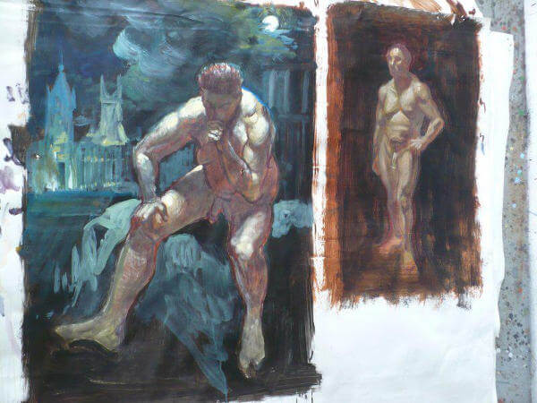 oeuvre de peintre amateur paris