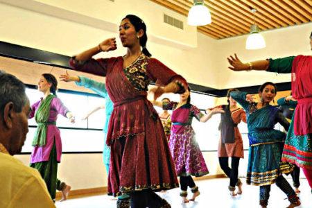 danseuses de kathak paris