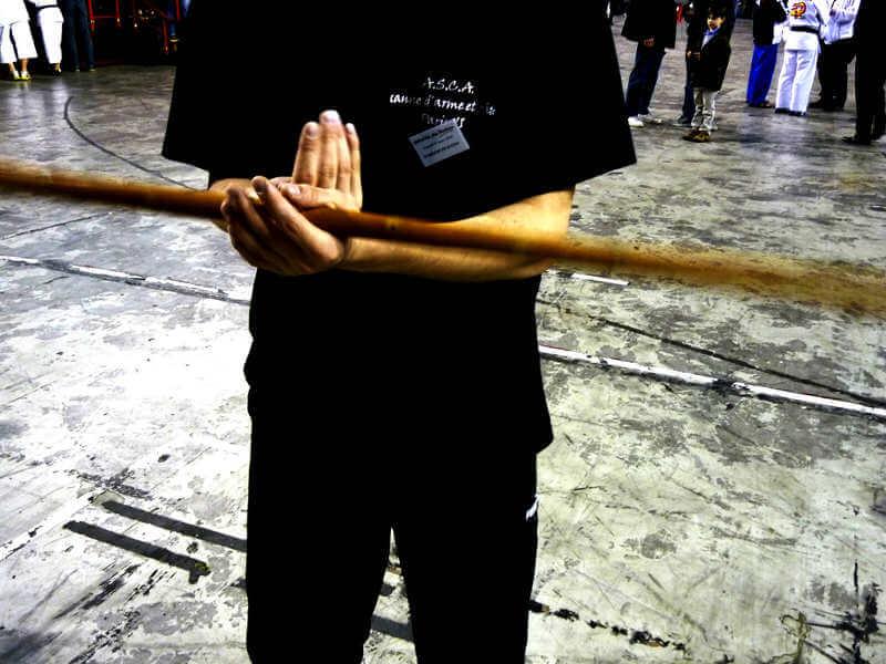 bâton à deux mains à Paris