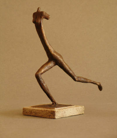 bronze patiné