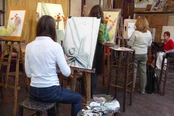 un bon atelier de dessin académique à paris