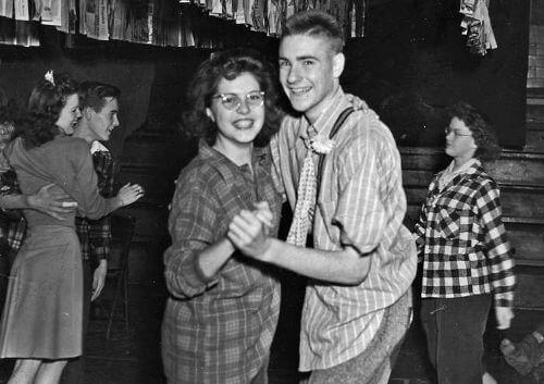 danseurs de rock années 40