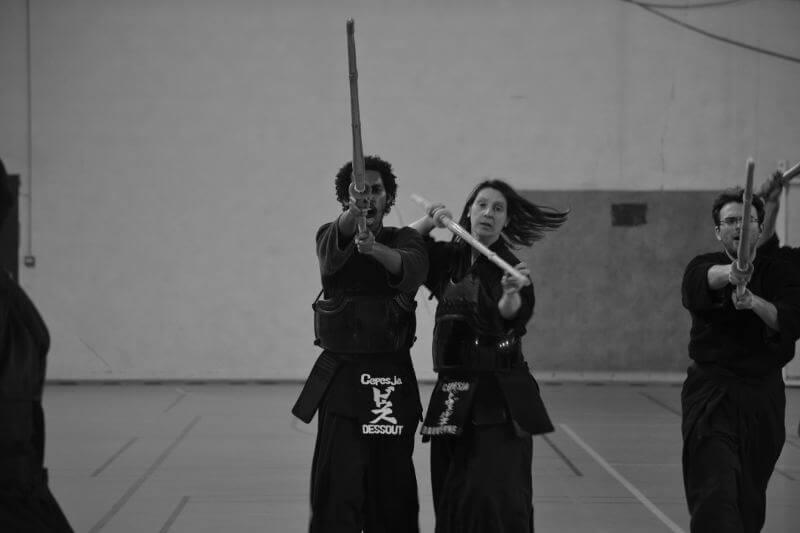 cours de kendo débutants à paris