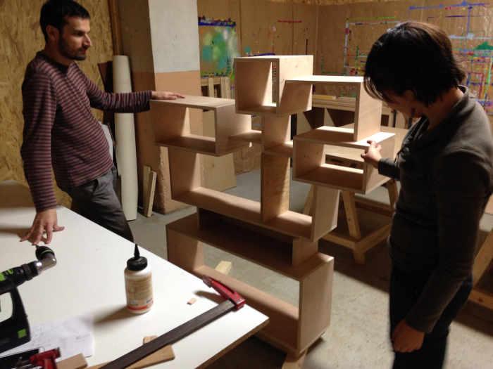 meuble sur mesure atelier menuiserie