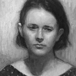 portrait-fille-fusain