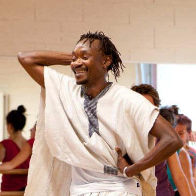 moise kourouma prof de danse africaine