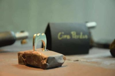 bague technique de la cire perdue dans cours de création de bijoux
