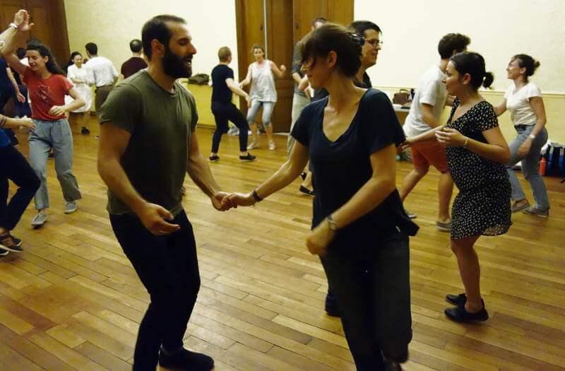 danse lindy hop pas intermédiaires