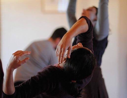 une danseuse de mouvement dansé