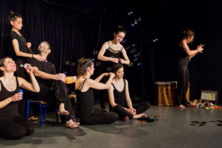 Un atelier qui fait la part belle au théâtre contemporain