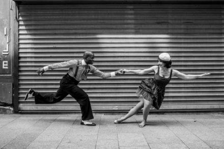 couple de danseurs de lindy hop
