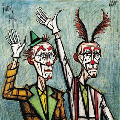 clowns de Bernard Buffet