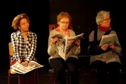 acteurs de théâtre seniors