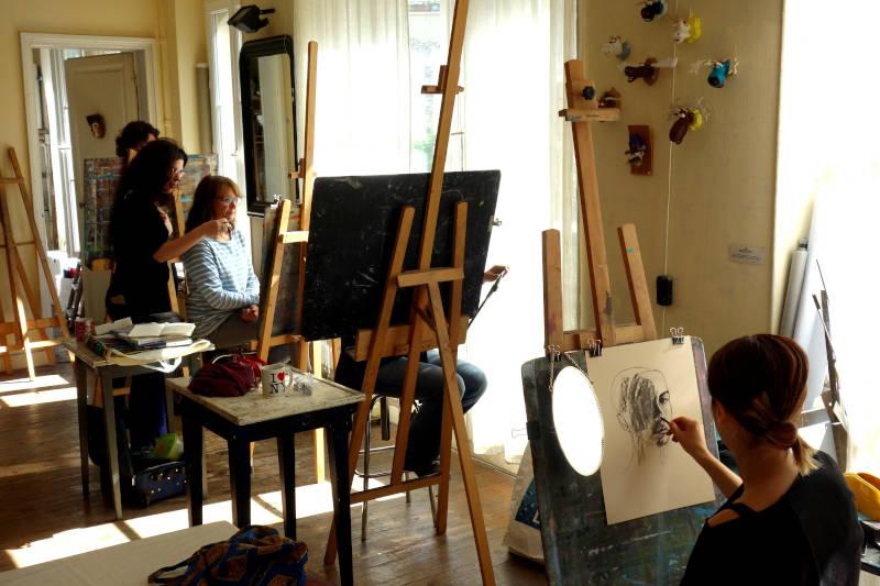atelier de dessin à Paris