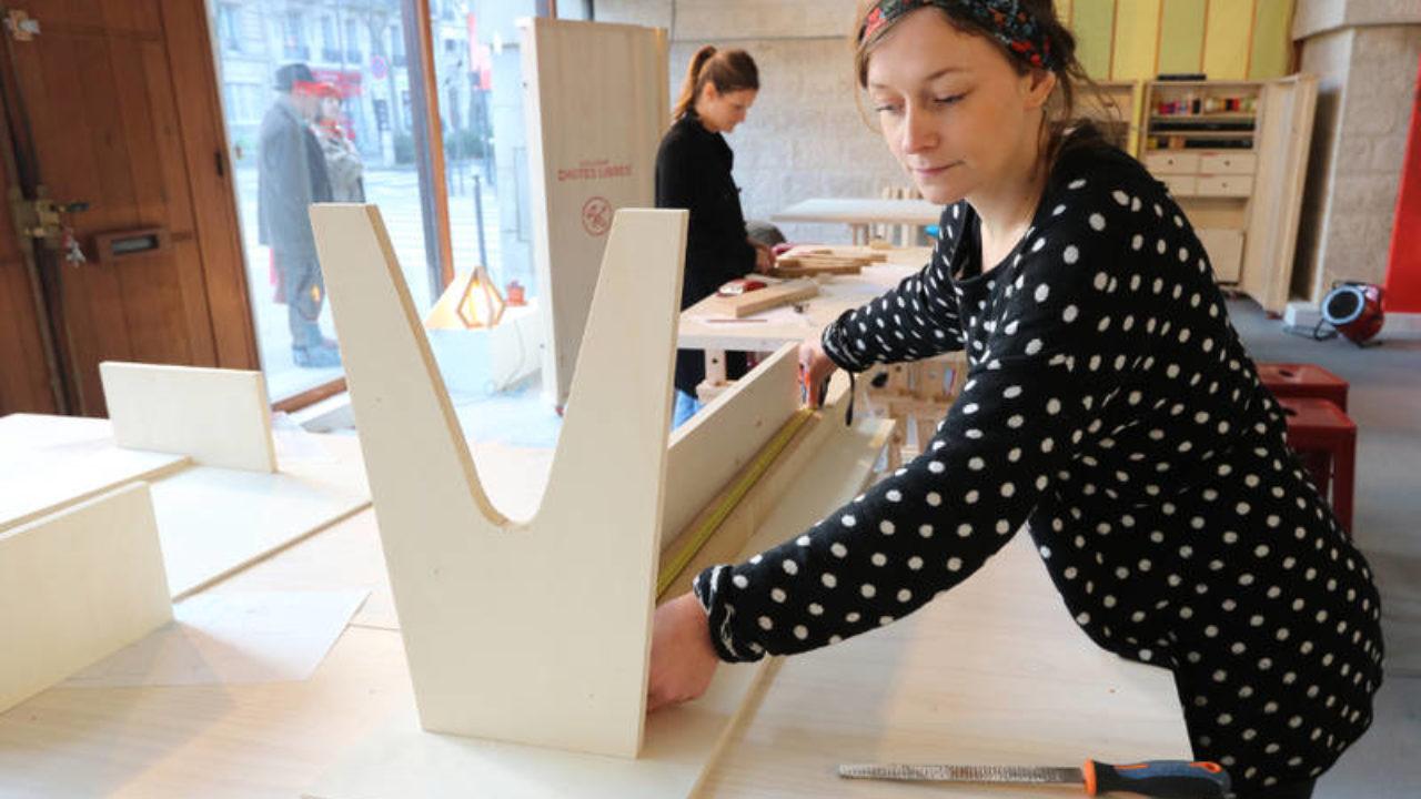 Ma Petite Fabrique De Meubles ateliers de fabrication de meubles à partir de chutes de bois