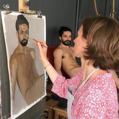 stage de peinture de nu