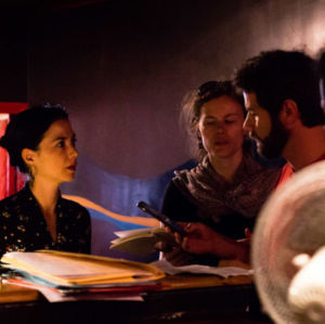 trois professeurs de théâtre