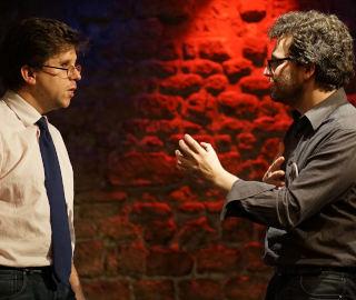 improvisateurs sur scène