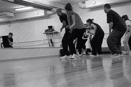 danseurs de hip hop de dos