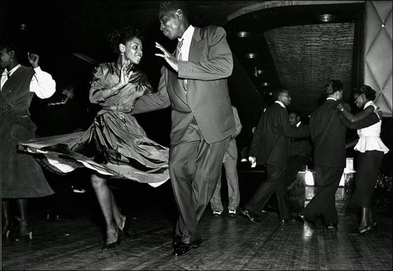 danseurs de lindy dans les années 40-50