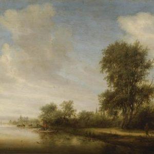ruysdael_paysage_fluvial