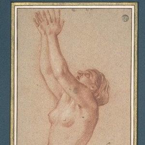 dessin de femme hachure