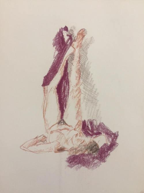 dessin de femme nue
