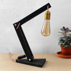 Lampe pliante (Kit électrique en option + 15€)