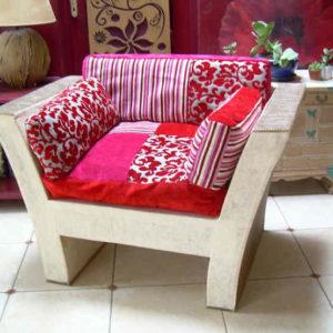 fauteuil en carton1