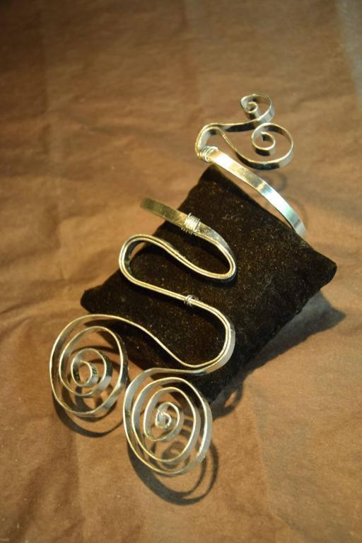 bracelet fil métallique