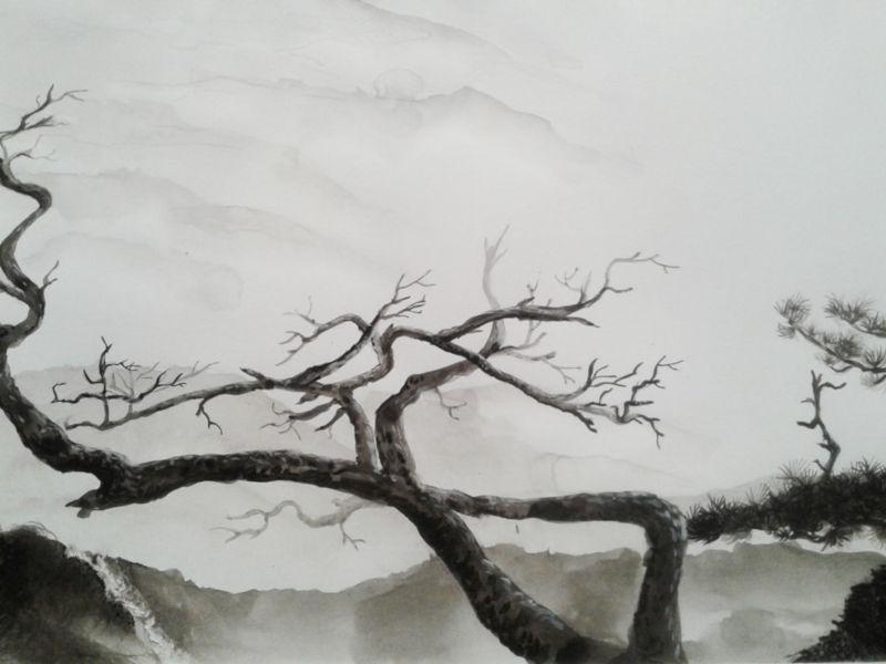 arbre encre de chine