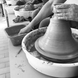 tournage de vase