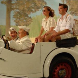 acteurs de comédie musicale dans voiture années 30