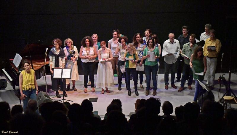 chorale chantant en brésilien