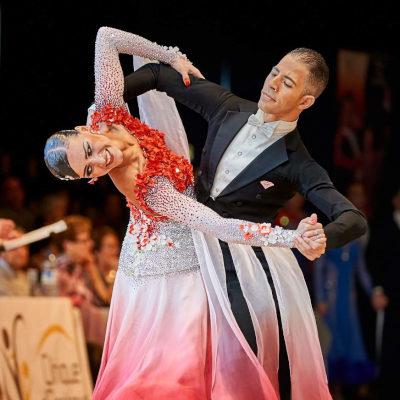 danseurs de salon en compétition