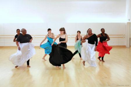 L'afro-jazz: entre danses académiques et danses afro-caribéennes