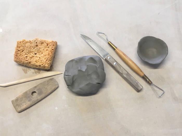 outils pour modelage céramique
