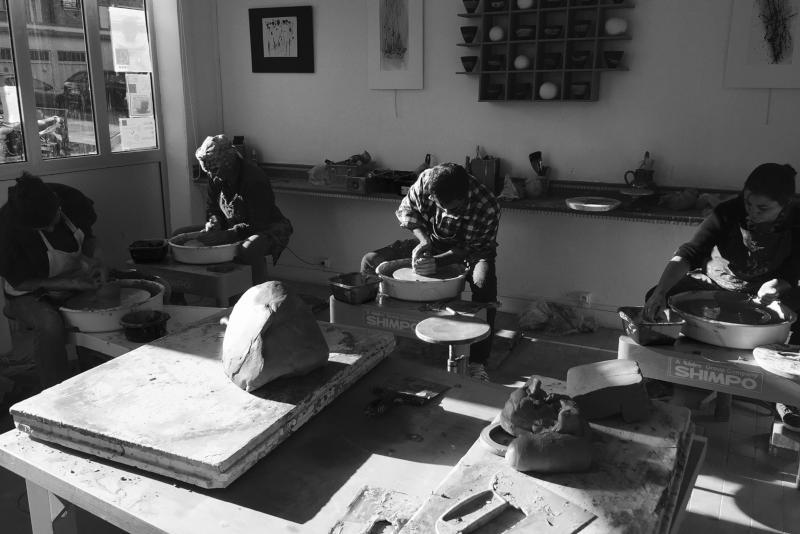 atelier de céramistes