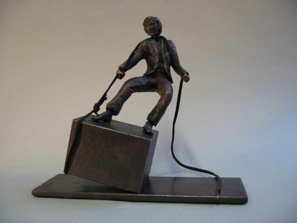 sculpture bronze cire perdue