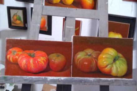natures mortes de tomate