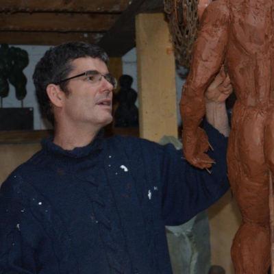 sculpteur homme