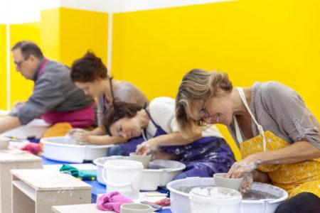 Céramique: des cours et un atelier de pratique libre