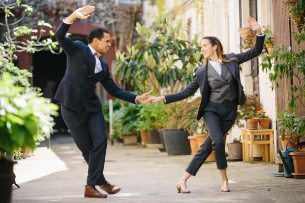 danseurs de lindy hop