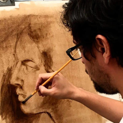 peinture de portrait